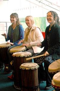 Drumming for Teachers!