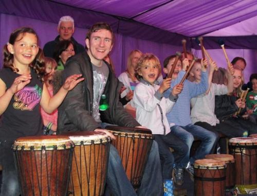 Drumvoice Delight Family Audiences at Cadbury's