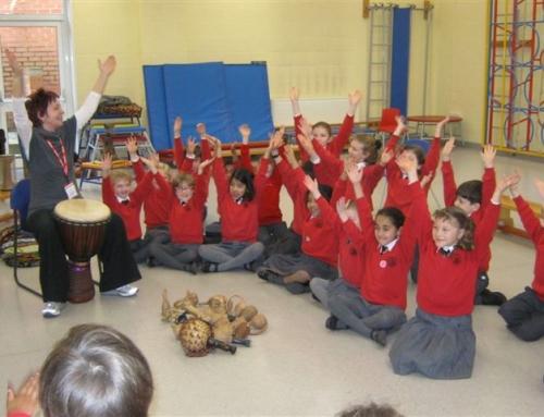 Drumming for Kenya & Fairtrade Topic
